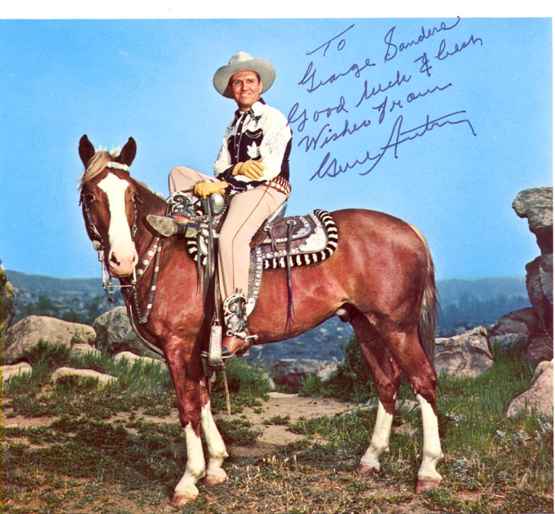 Image 1 for Gene Autry - Autographed Inscribed Photograph - HFSID 24649