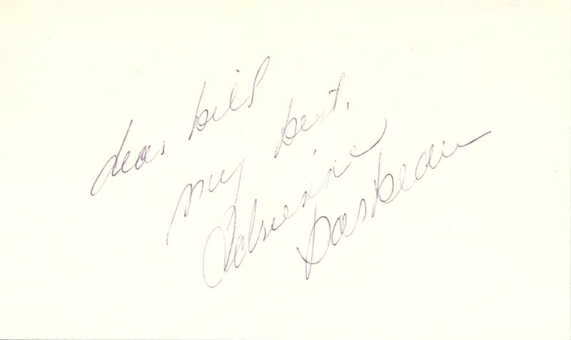 Image 1 for Adrienne Barbeau - Autograph Note Signed - HFSID 24682