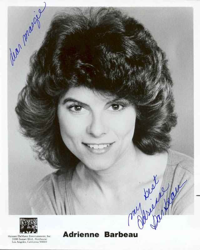 Image 1 for Adrienne Barbeau - Autographed Inscribed Photograph - HFSID 24683