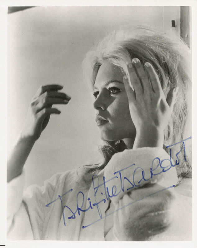 Image 1 for Brigitte Bardot - Autographed Signed Photograph - HFSID 24684