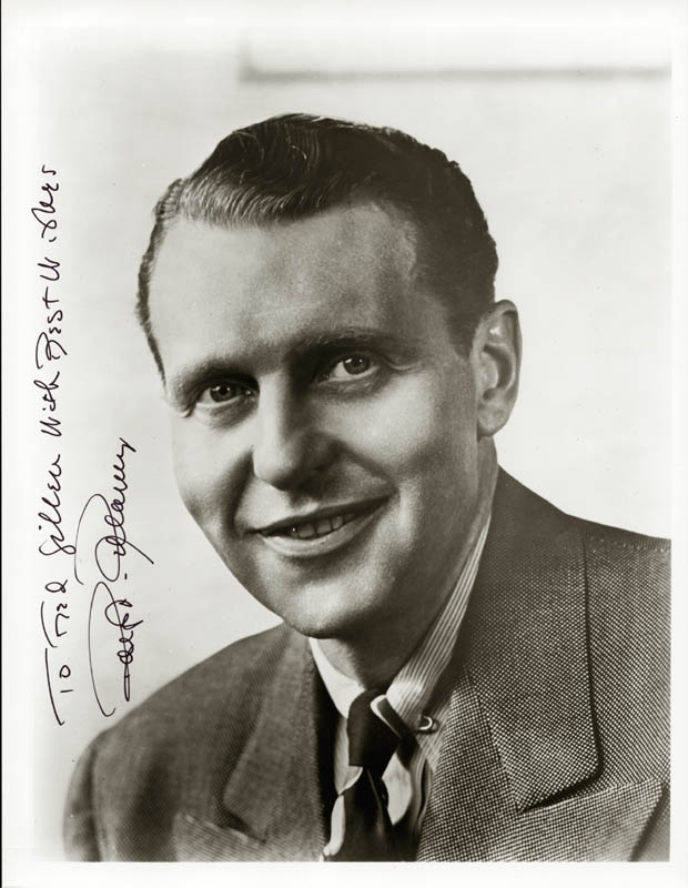 Image 1 for Ralph Bellamy - Autographed Inscribed Photograph - HFSID 24721