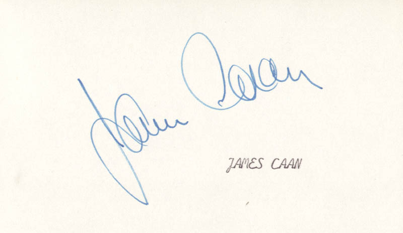 Image 1 for James Caan - Autograph - HFSID 24830