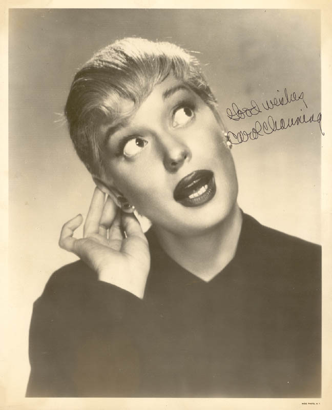 Image 1 for Carol Channing - Autographed Signed Photograph - HFSID 24878