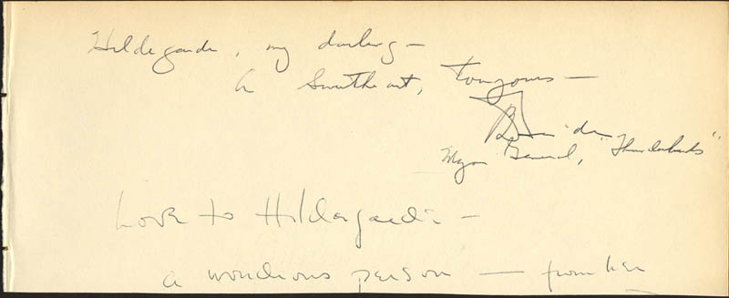 Image 3 for Carol Channing - Autograph Note Signed co-signed by: Harry Doehla - HFSID 24879