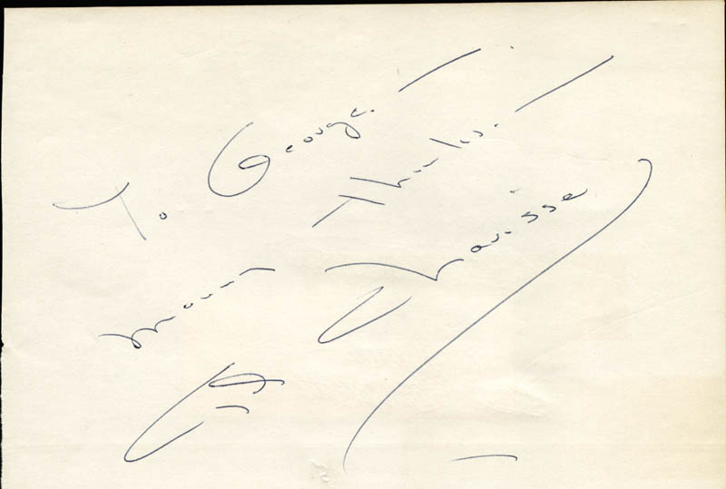 Image 1 for Cyd Charisse - Inscribed Signature co-signed by: Peggy King - HFSID 24885