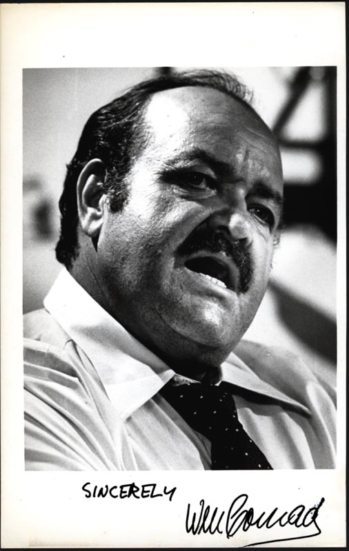 Image 1 for William Conrad - Autographed Signed Photograph - HFSID 24928