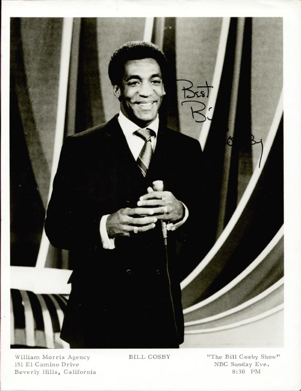 Image 1 for Bill Cosby - Autographed Signed Photograph - HFSID 24942