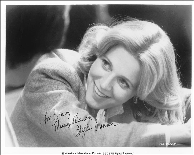 Image 1 for Blythe Danner - Autographed Inscribed Photograph 1976 - HFSID 24978