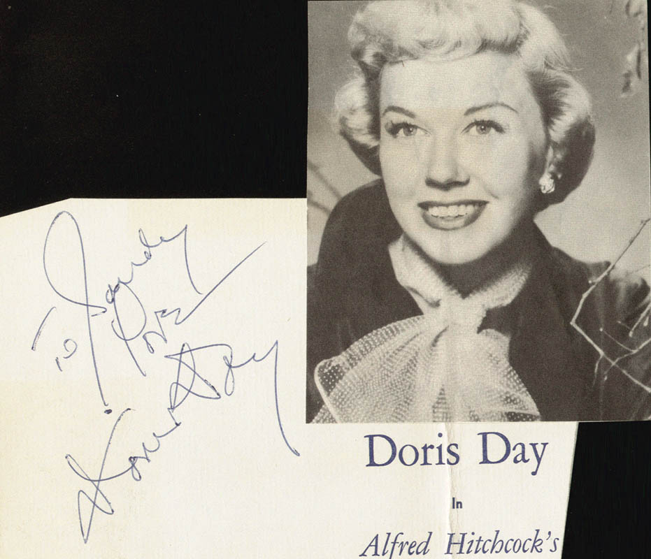 Image 1 for Doris Day - Autograph Note Signed - HFSID 24986