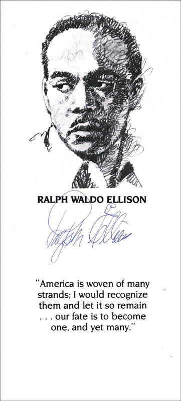 ralph waldo ellison Ralph waldo ellison was born in the year 1914, march 1, to parents mr lewis alfred and to mother ilda millsap ellison this family of four settled in oklahoma.
