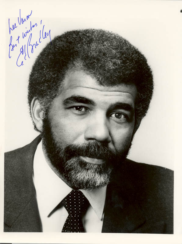 Image 1 for Ed Bradley - Autographed Inscribed Photograph - HFSID 250835