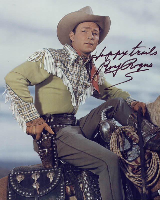 Image 1 for Roy Rogers - Autographed Signed Photograph - HFSID 250873
