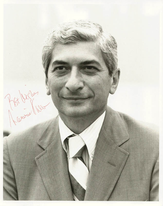 Image 1 for Marvin Kalb - Autographed Signed Photograph - HFSID 250910