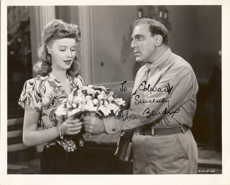 Image 1 for William Bendix - Autographed Inscribed Photograph - HFSID 251009