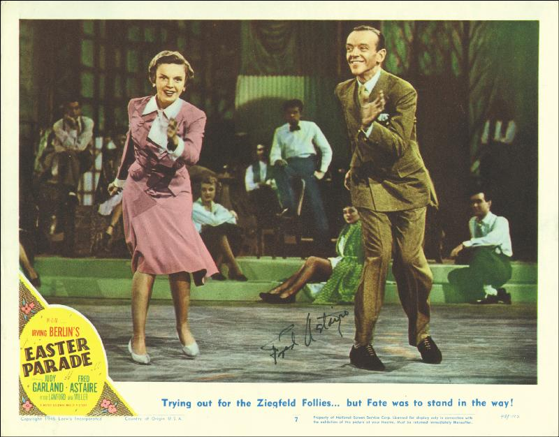 Image 1 for Fred Astaire - Lobby Card Signed - HFSID 251044