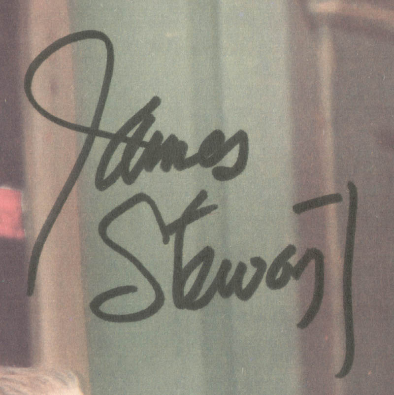 Image 3 for James 'Jimmy' Stewart - Lobby Card Signed - HFSID 251065