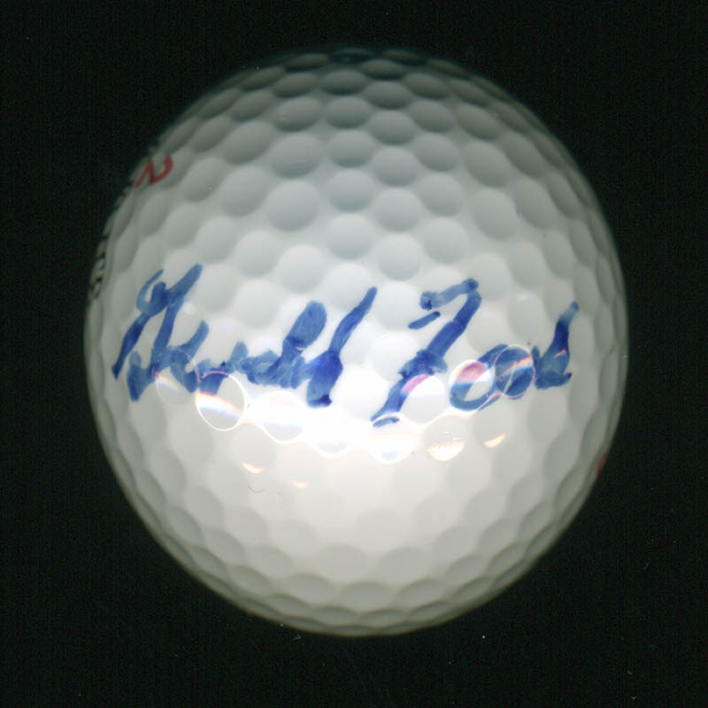 Image 1 for President Gerald R. Ford - Golf Ball Signed - HFSID 251091