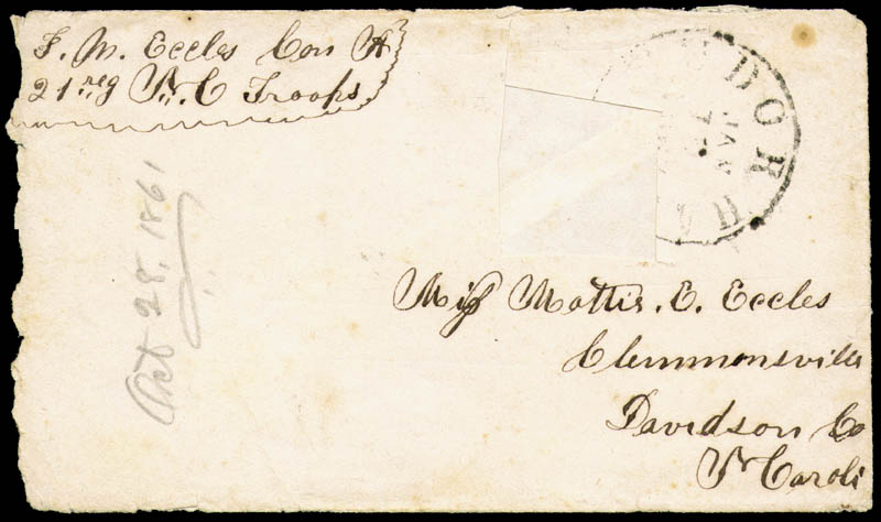 Image 3 for Civil War - Confederate - Autograph Letter Signed 07/09/1861 - HFSID 251294