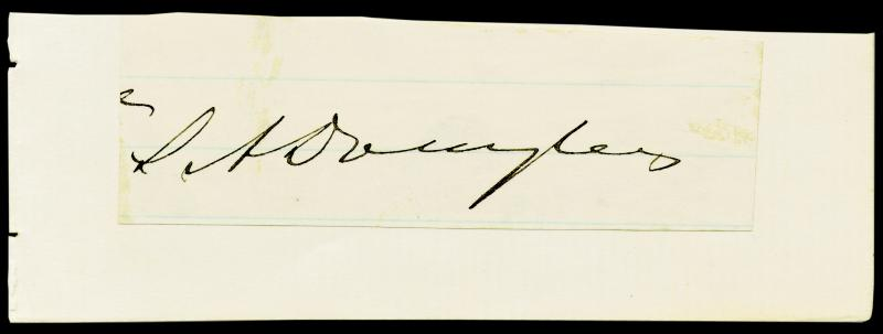 Image 1 for Stephen A. 'Little Giant' Douglas - Clipped Signature - HFSID 251352