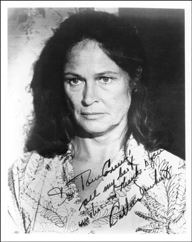 Image 1 for Colleen Dewhurst - Autographed Inscribed Photograph - HFSID 25140