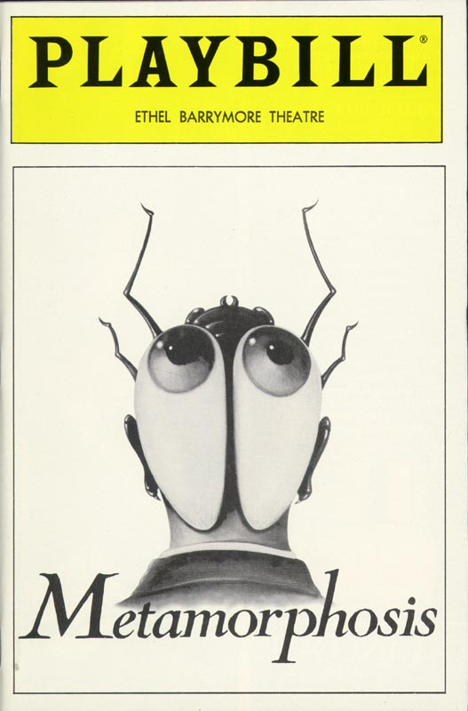 Image 3 for Metamorphosis Broadway Cast - Show Bill Signed Circa 1989 with co-signers - HFSID 251607