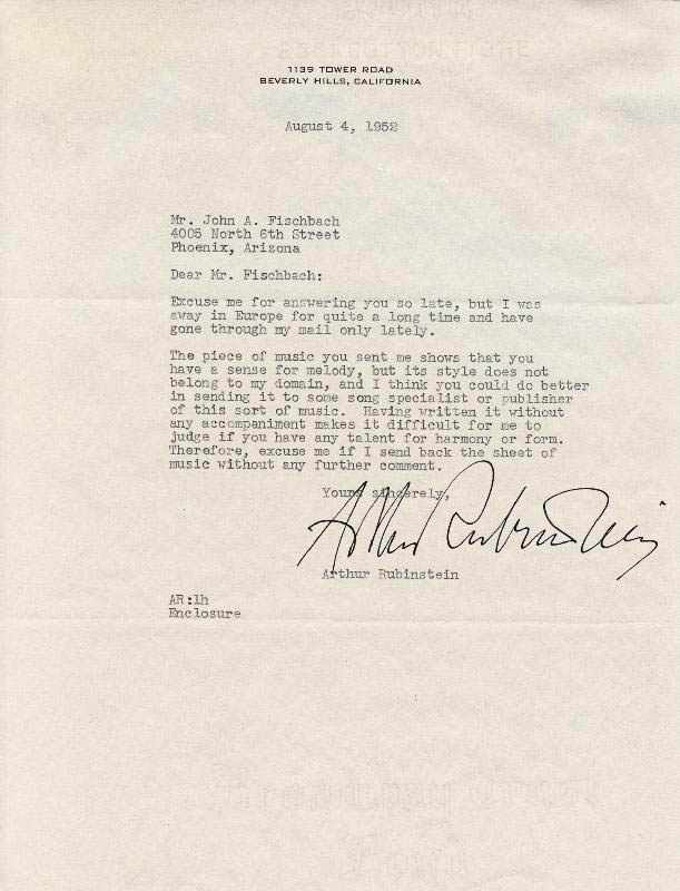 Arthur rubinstein typed letter signed 08041952 autographs arthur rubinstein typed letter signed 08041952 hfsid 251632 thecheapjerseys Choice Image