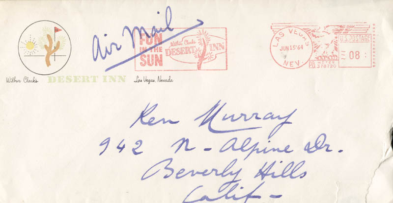 Image 3 for Maurice Chevalier - Autograph Letter Signed 06/13/1964 - HFSID 251704