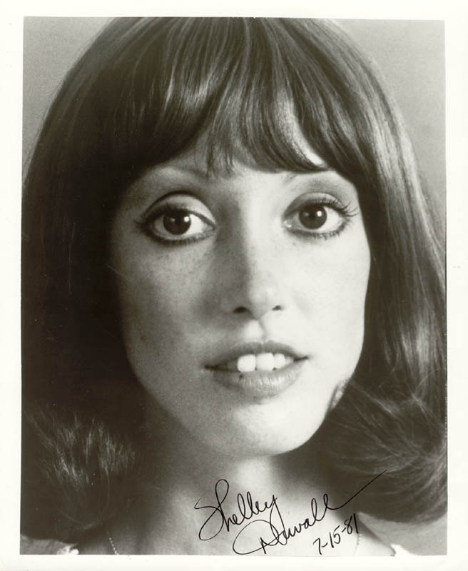 Image 1 for Shelley Duvall - Autographed Signed Photograph 07/15/1981 - HFSID 25182