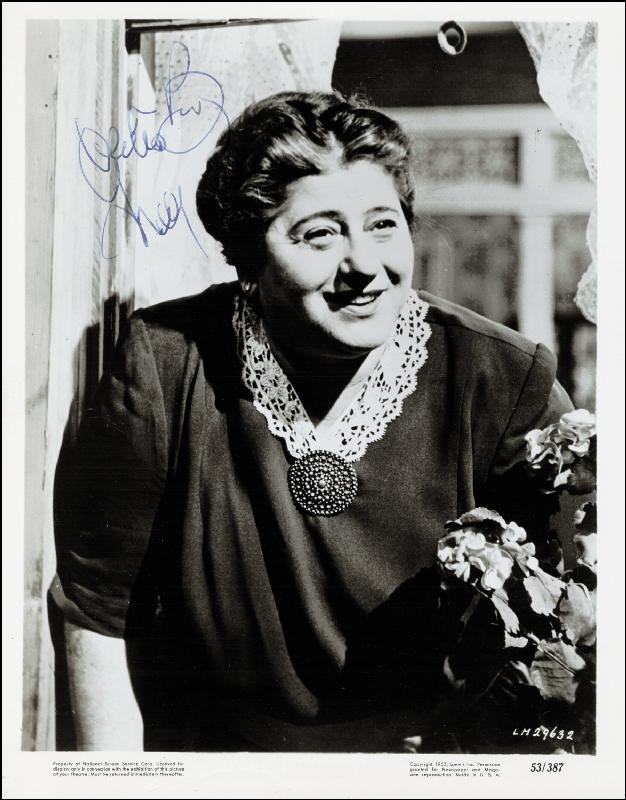 Image 1 for Gertrude Berg - Autographed Signed Photograph - HFSID 251850