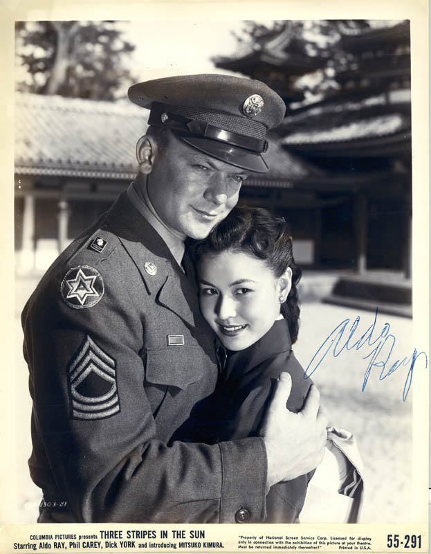 Image 1 for Aldo Ray - Autographed Signed Photograph - HFSID 251922