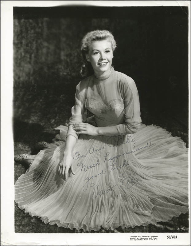 Image 1 for Vera-ellen Rohe - Autographed Inscribed Photograph - HFSID 25193