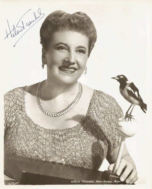 Image 1 for Helen Traubel - Autographed Signed Photograph - HFSID 251941