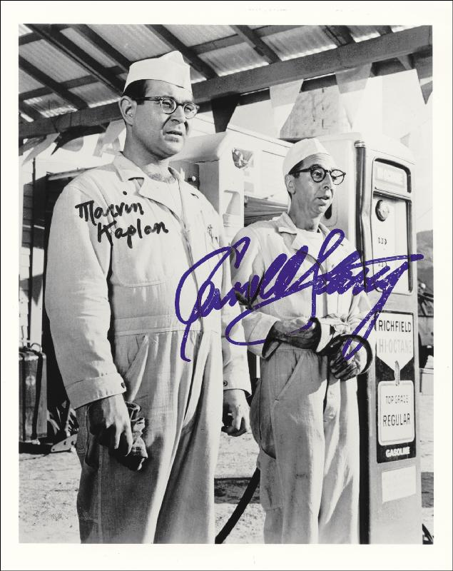 Image 1 for It''S A Mad, Mad, Mad, Mad World Movie Cast - Autographed Signed Photograph co-signed by: Marvin Kaplan, Arnold Stang - HFSID 251979