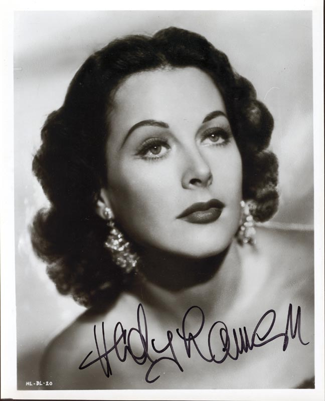 Image 1 for Hedy Lamarr - Autographed Signed Photograph - HFSID 251984