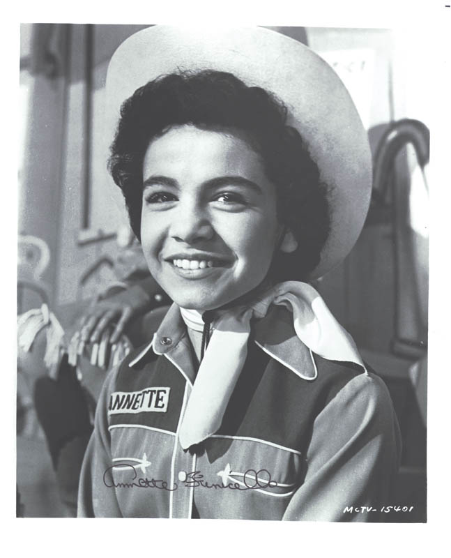 Image 1 for Annette Funicello - Autographed Signed Photograph - HFSID 252045