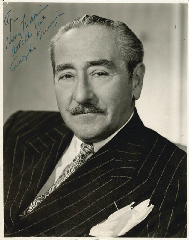 Image 1 for Adolphe Menjou - Autographed Inscribed Photograph - HFSID 252062