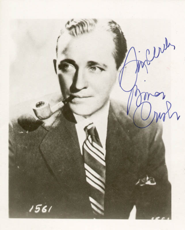 Image 1 for Bing Crosby - Autographed Signed Photograph - HFSID 252371