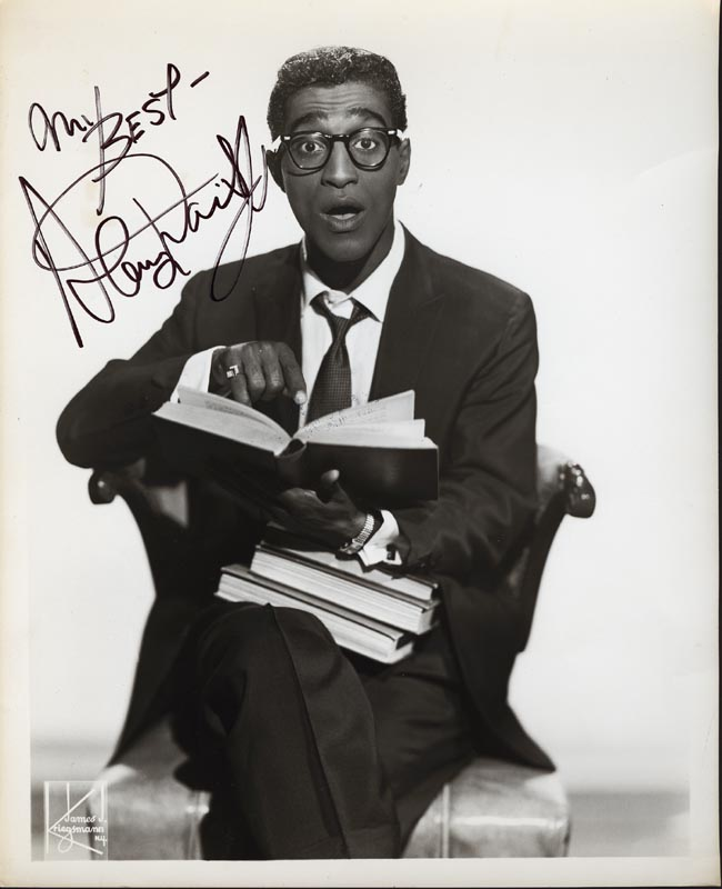 Image 1 for Sammy Davis Jr. - Autographed Signed Photograph - HFSID 252372