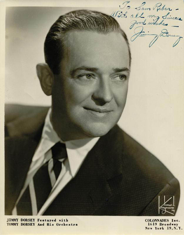Image 1 for Jimmy Dorsey - Autographed Inscribed Photograph - HFSID 252569