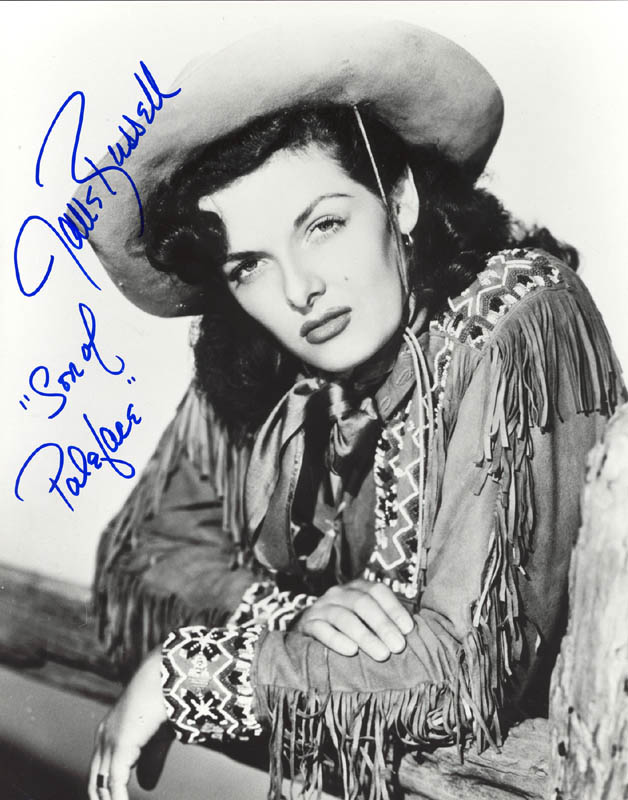 Image 1 for Jane Russell - Autographed Signed Photograph - HFSID 252571