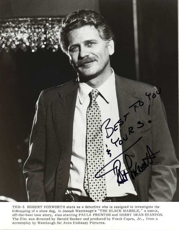 Image 1 for Robert Foxworth - Autographed Signed Photograph - HFSID 25258