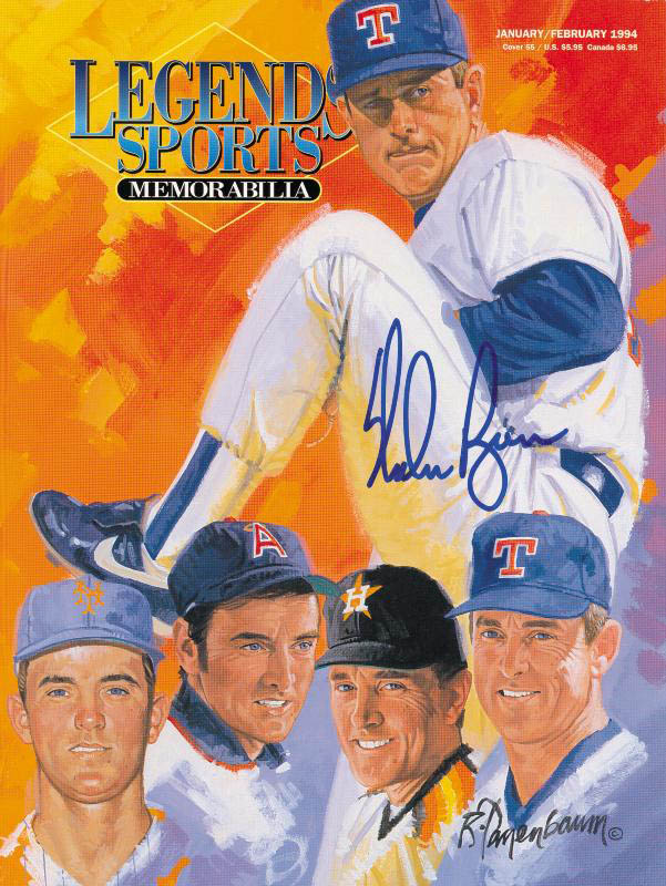 Image 1 for Nolan Ryan - Magazine Cover Signed - HFSID 252602