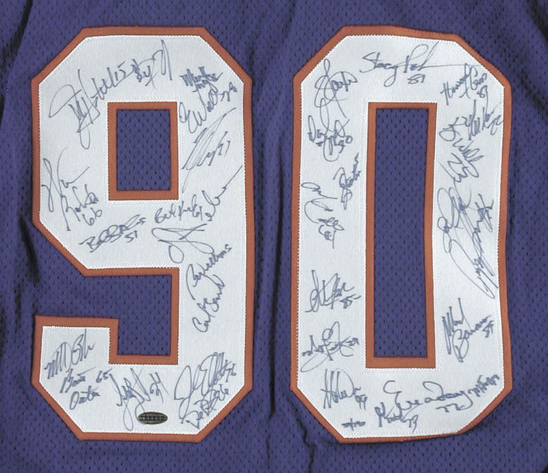 Image 3 for The New York Giants - Jersey Signed Circa 1990 with co-signers - HFSID 252878