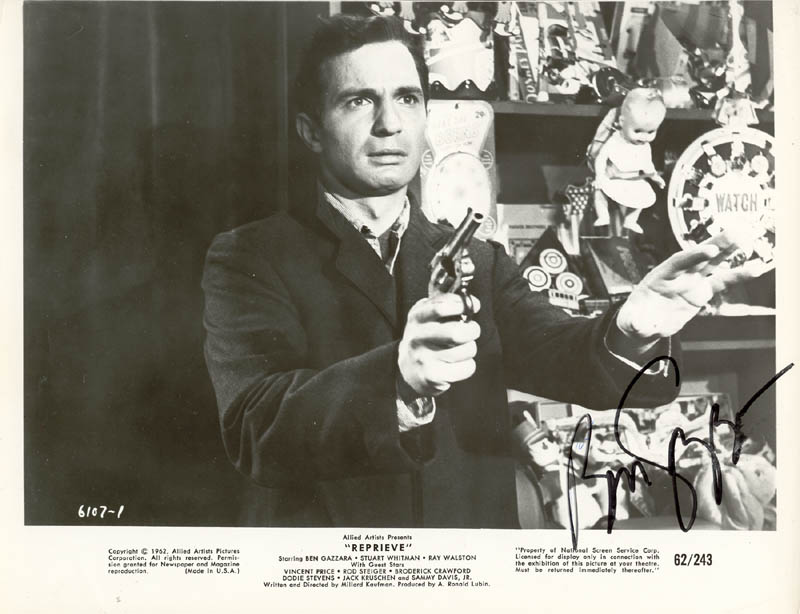 Image 1 for Ben Gazzara - Autographed Signed Photograph - HFSID 25295