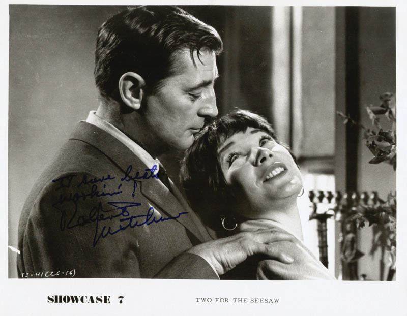 Image 1 for Robert Mitchum - Autographed Signed Photograph - HFSID 253222