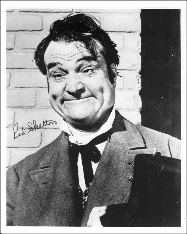 Image 1 for Red Skelton - Autographed Signed Photograph - HFSID 253290