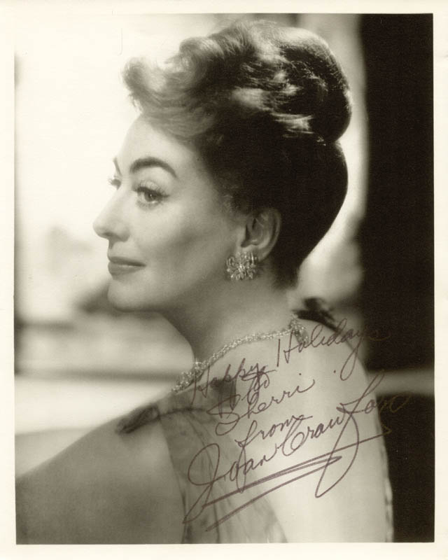 Image 1 for Joan Crawford - Autographed Inscribed Photograph - HFSID 253320