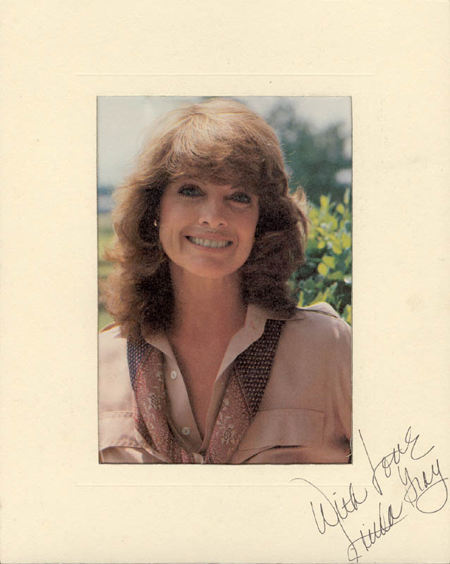 Image 1 for Linda Gray - Photograph Mount Signed - HFSID 25338