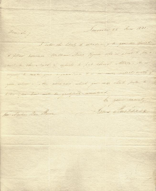 Image 1 for President James Buchanan - Autograph Letter Signed 06/26/1831 - HFSID 253486