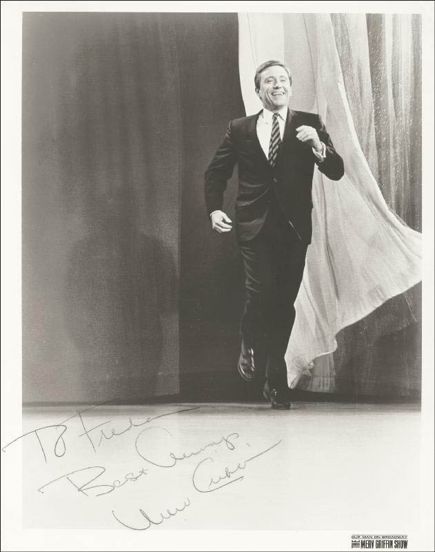 Image 1 for Merv Griffin - Autographed Inscribed Photograph - HFSID 25350